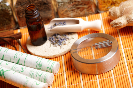 Display of tools in phoenix acupuncture clinic