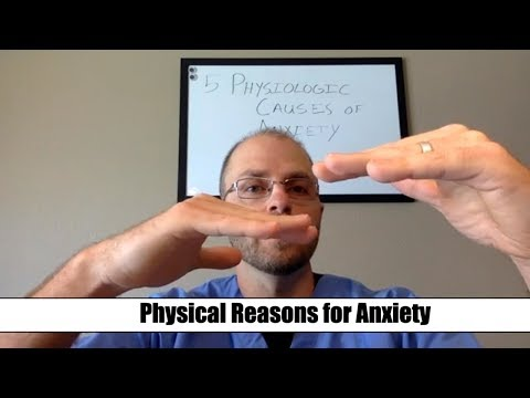 Top 5 Physiological Causes of Anxiety (Pt1)